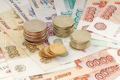 Russian moneys Stock Image