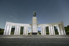 Russian Monument Stock Image