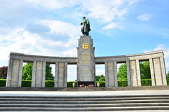 Russian Monument Royalty Free Stock Image