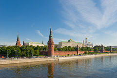 Russian Moscow Kremlin Royalty Free Stock Images