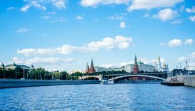 Russian Motherland -The Kremlin walls 2 Royalty Free Stock Photo
