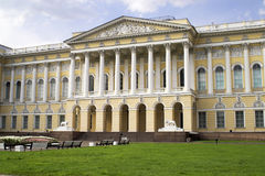 Russian Museum - 1. The front side of the Russian Museum in the Mikhailovsky Palace in Saint Petersburg royalty free stock image