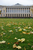 Russian Museum. Russia, St. Petersburg. Russian Museum (Mikhailovsky Palace) in autumn Royalty Free Stock Photos