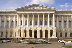 Russian Museum - 3. The front side of the Russian Museum in the Mikhailovsky Palace in Saint Petersburg stock photography