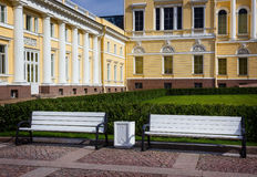 Russian Museum. The Mikhailovsky Palace. Saint Petersburg. stock image