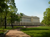The Russian Museum. Saint-Petersburg. Russia. The Mikhailovsky Palace, which houses the Russian Museum in St. Petersburg in Russia Stock Photos