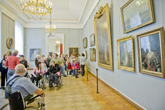 Russian Museum in St.Petersburg Royalty Free Stock Photography