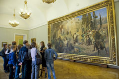 Russian Museum in St.Petersburg royalty free stock images