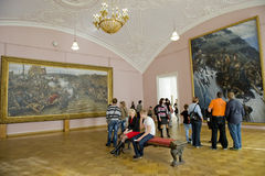 Russian Museum in St.Petersburg stock image