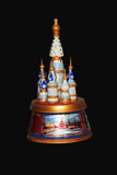Russian music box Royalty Free Stock Photo