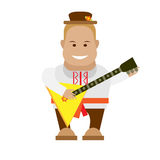 Russian musician Royalty Free Stock Images