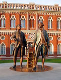 Russian national architecture ensemble Tsaritsino Royalty Free Stock Photo