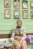Russian national clothes. Stock Photography