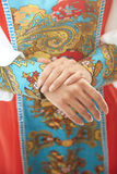 Russian national costume Royalty Free Stock Image