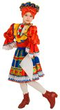 Russian national dance. Royalty Free Stock Image