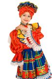 Russian national dance. Royalty Free Stock Photos