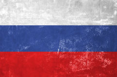 Russian National Flag Royalty Free Stock Photography