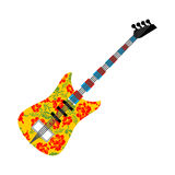 Russian national guitar. Musical instrument  Royalty Free Stock Photo