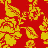 Russian national pattern Hohloma. Traditional Folk Ornament Royalty Free Stock Images