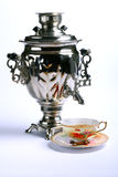 Russian national samovar Royalty Free Stock Photos