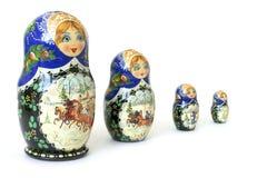 Russian national souvenir. The nursery toy. Russian national souvenir Stock Photo