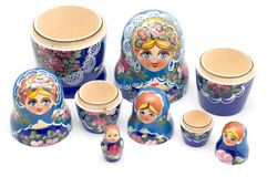 Russian national souvenir closeup Stock Photography