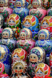 Russian national souvenir - Matryoshka Stock Images