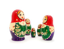 Free Russian Nested Dolls Royalty Free Stock Photography - 13404567