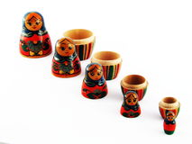 Russian Nested Dolls royalty free stock images