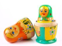 Russian nesting doll Royalty Free Stock Photography