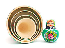 Russian Nesting Doll Stock Images