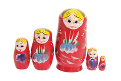 Russian Nesting Dolls Royalty Free Stock Photos