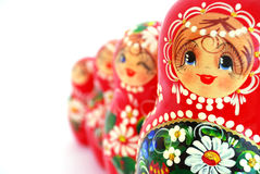 Russian Nesting Dolls Royalty Free Stock Photo