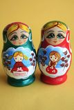 Russian Nesting Dolls Royalty Free Stock Image