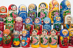 Russian nesting dolls Royalty Free Stock Photography