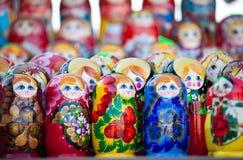 Russian nesting dolls Royalty Free Stock Image