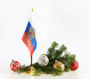 Russian New Year Stock Photo