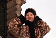 Russian noblewoman Stock Image