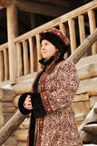 Russian noblewoman Royalty Free Stock Photography