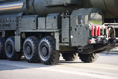 Russian nuclear missile Topol-M Stock Image