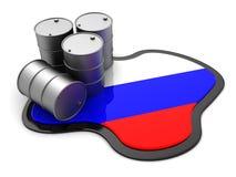 Russian oil Stock Photos