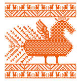 Russian old embroidery and patterns. Stock Photography