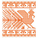 Russian old embroidery and patterns Stock Photography
