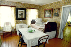 Russian old house interior Royalty Free Stock Photos
