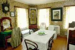 Russian old house interior Royalty Free Stock Photography