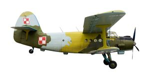 Russian old jet plane Stock Photography