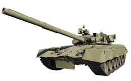 Russian old tank Royalty Free Stock Photography