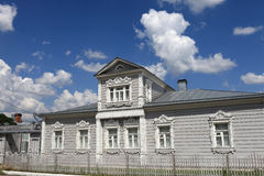 Russian old wooden house Royalty Free Stock Photography