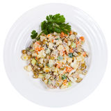 Russian Olivier salad Royalty Free Stock Photo