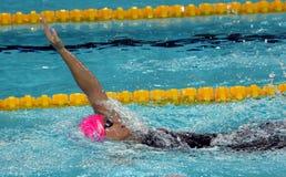 Russian olympian and world champion breaststroke swimmer Yulia Yefimova Stock Image
